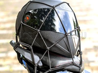 Багажная сетка-паук BS01 (черная, 40 х 40 см)
