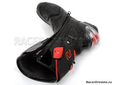 Мотоботы Pro Biker Speed B1001 (черные)