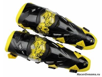 Scoyco K12 мото наколенники (черно-желтые)