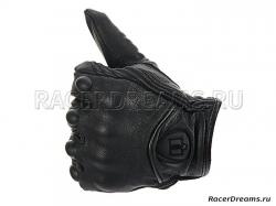 Icon Pursuit мотоперчатки кожаные