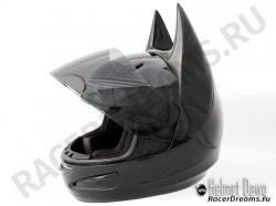 Мотошлем Helmet Dawg HD100 (Шлем Бэтмена)